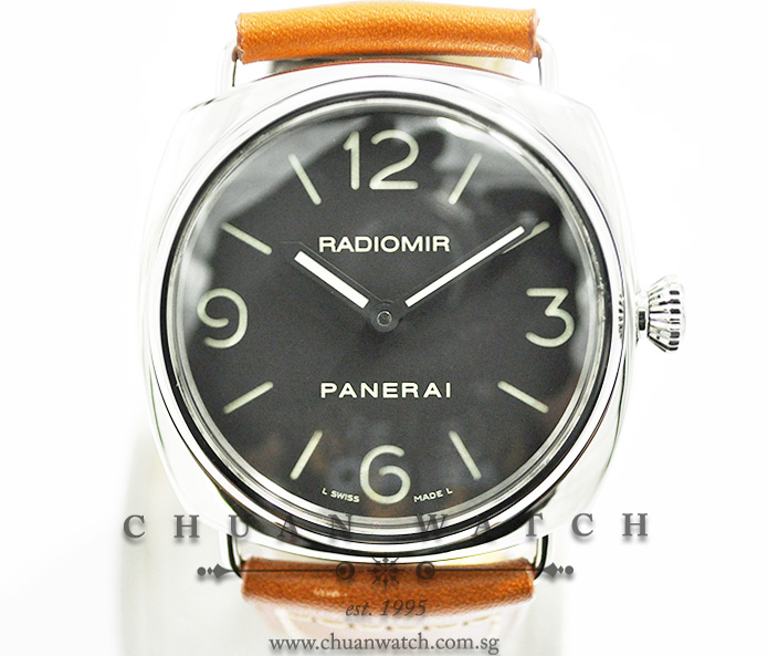 Panerai Radiomir Base 45mm Pam 210 M Discontinued Chuan Watch
